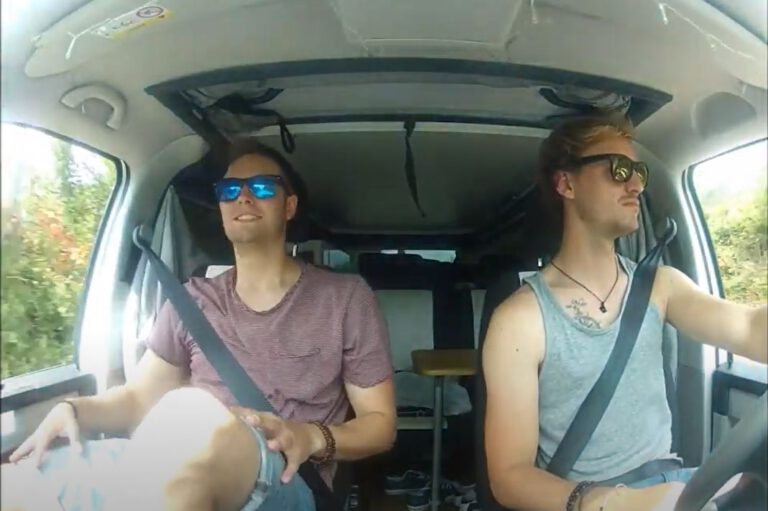 Trip mit dem Easy Camper 2018 - cool